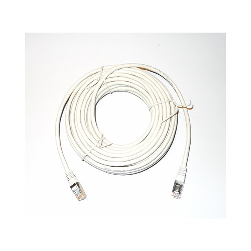 ethernet cable ftp rj45 10m light grey