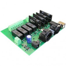 Devantech DMX-USB-RX-RLY8  (2 dimmers and 4 relays)