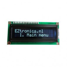 LCD Display (16 x 2) ADM1602K White on black