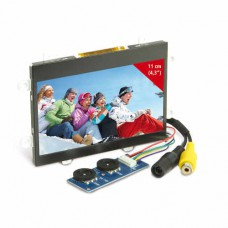 """LCD Display 4.3"""" composite video"""