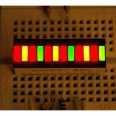 Bi-Color (Red/Green) 12-LED Bargraph