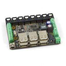 PhidgetInterfaceKit 8/8/8 w/6 Port Hub version with USB Cable